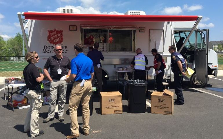 Salvation Army Supports Emergency Management Exercise in Virginia