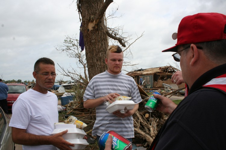 Salvation Army Enters Second Day of Expanded Oklahoma Tornado Relief Efforts