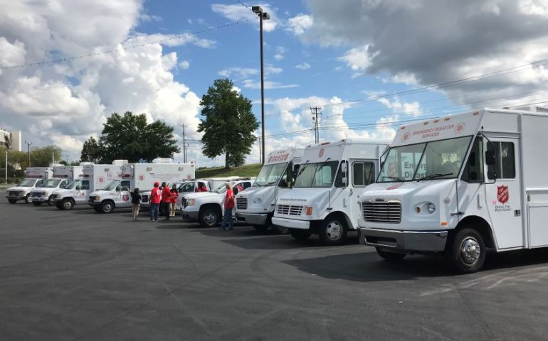 Salvation Army Texas EDS Teams Remain on Standby as Hurricane Dorian Approaches East Coast