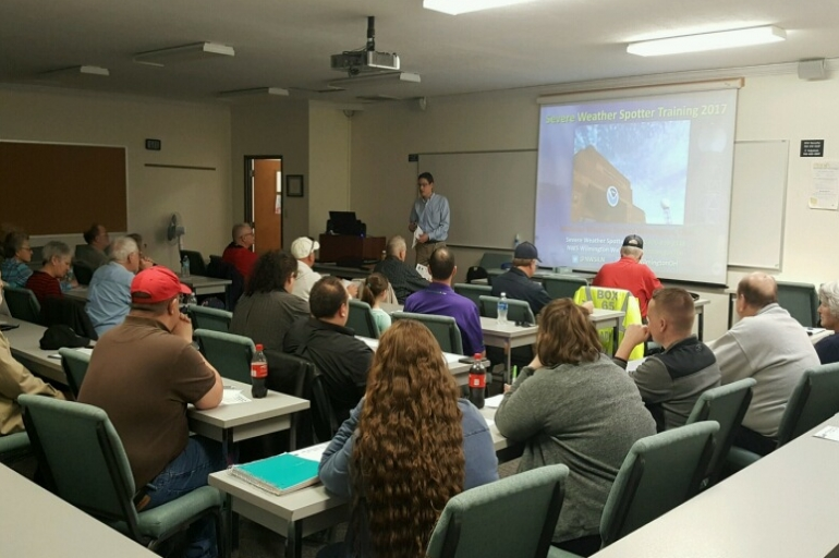 SWONEKY Divisional EDS Participates in NWS Weather Spotter Course