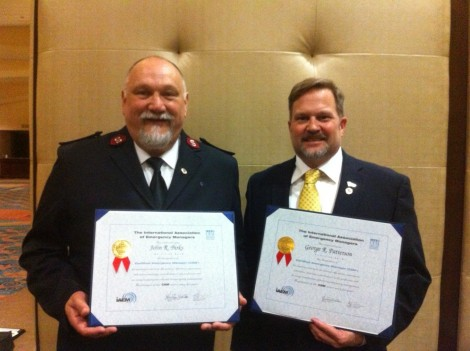 Certified Emergency Manager Credential Bestowed On Two Salvationists