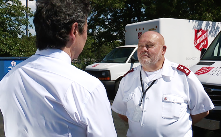 The Salvation Army Assists the City of Cleveland During RNC