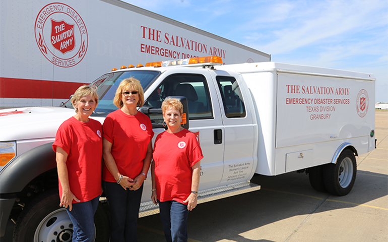 Volunteer Team from Granbury, TX Serves on Front Lines