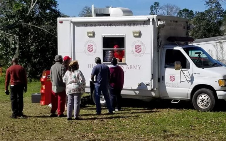 The Salvation Army Serving Baum Community After Tallahassee Tornado