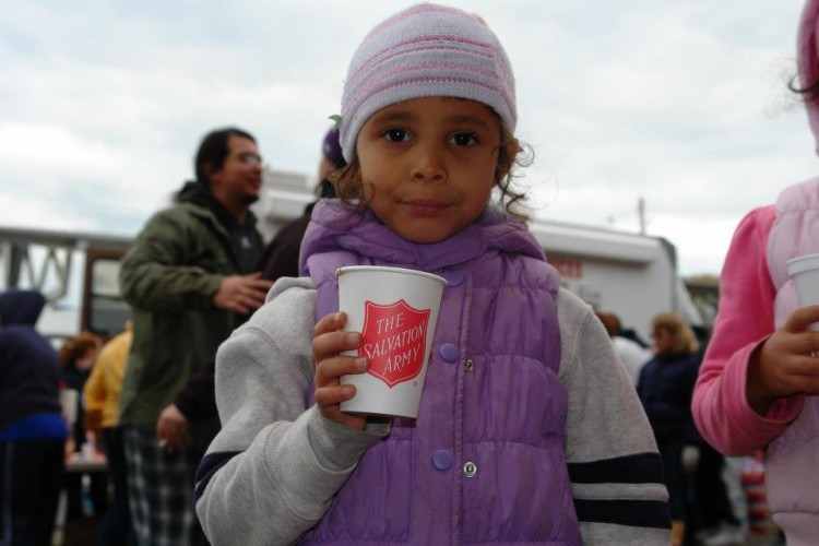 The Salvation Army Marks Second Anniversary of Hurricane Sandy