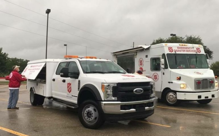 Multiple Salvation Army Units in Texas Placed on Standby In Response to Hurricane Hanna