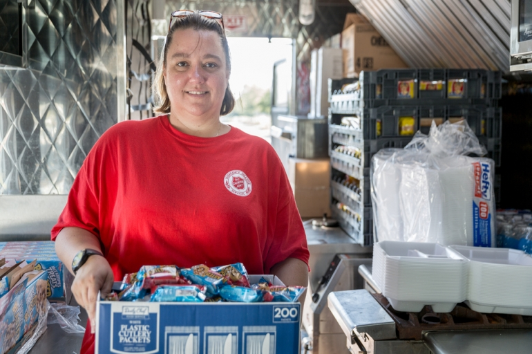 Tampa Bay Salvation Army Prepared and Serving as Hurricane Matthew Bears Down