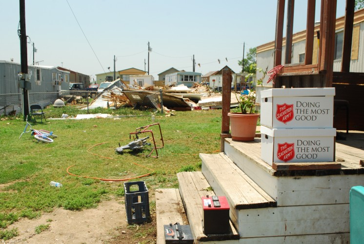 The Salvation Army Meeting Unmet Needs in Johnson County following Tornado