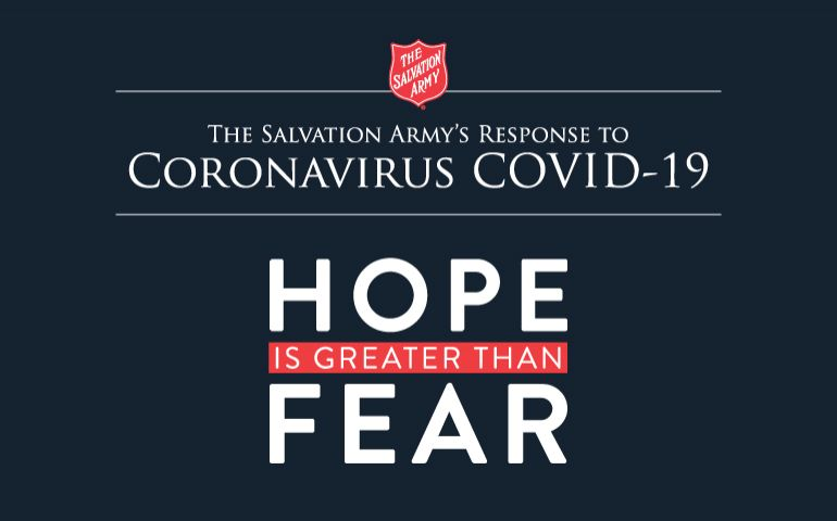 The Salvation Army is responding around the globe to the COVID-19 pandemic