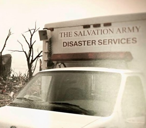 Salvation Army Emergency Units Respond to Site of Deadly Tornado