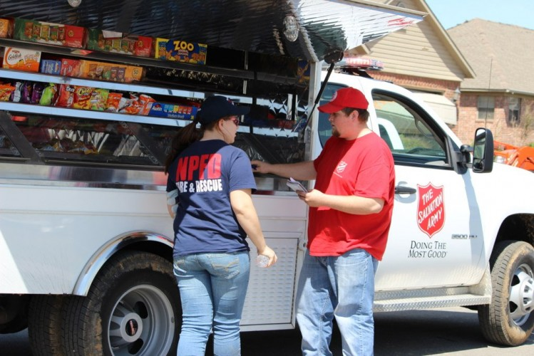 Salvation Army Continues Relief Efforts in Central Arkansas