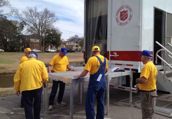 A Strong Partnership: The Salvation Army & The Southern Baptists