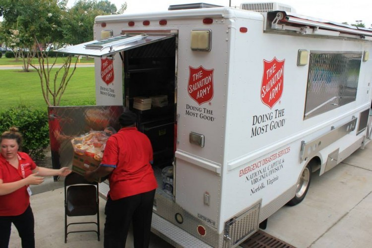 The Salvation Army Responds to Eastern Shore Tornado
