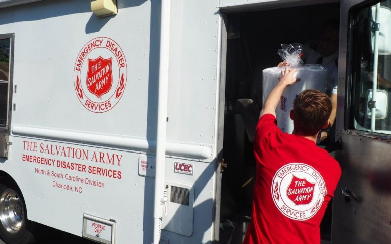 Salvation Army Mobilizing Personnel and Mobile Feeding Units Ahead of Florence