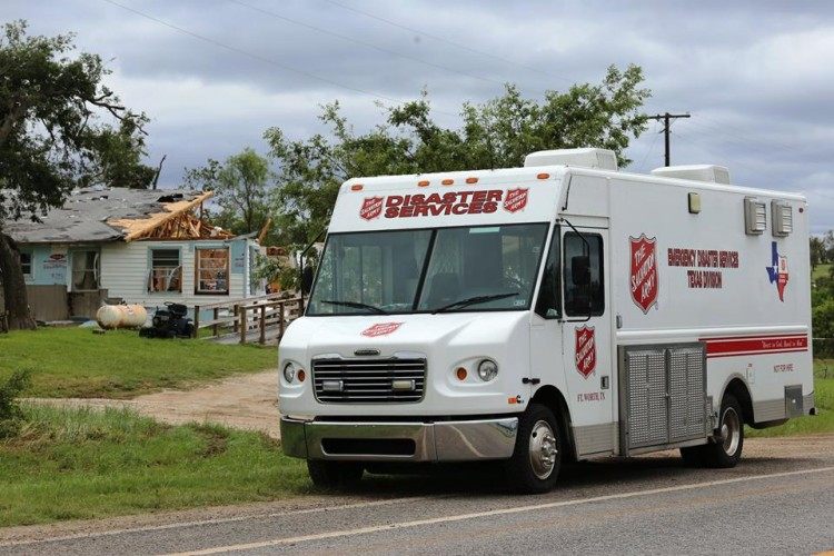Statewide Flooding Prompts Increased Salvation Army Response in Texas