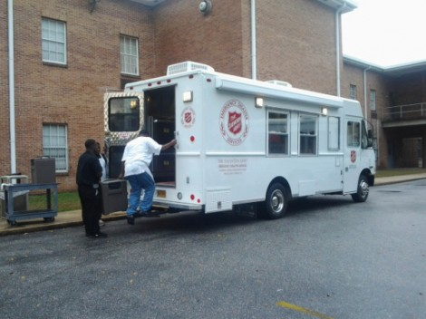 The Salvation Army Responds to Christmas Day Storms
