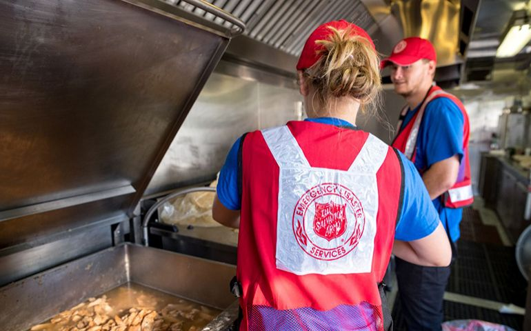 Salvation Army Field Kitchens: The Hub of Houston Feeding