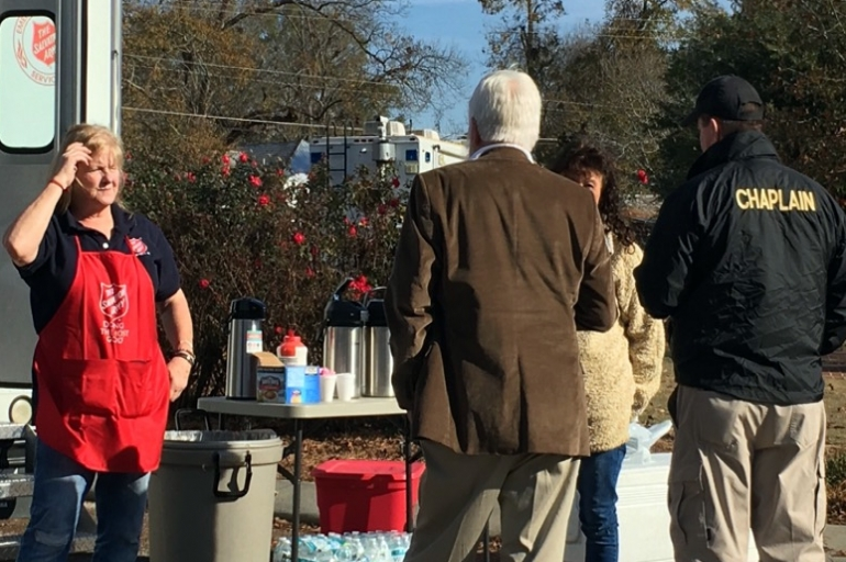 The Salvation Army Provides Support Following Americus Shooting