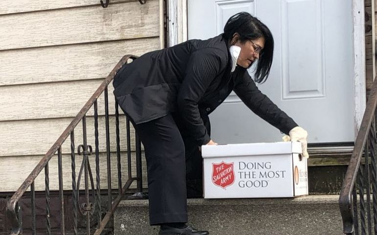Salvation Army Plays Key Role in Chicago's Emergency Food Coordination Center