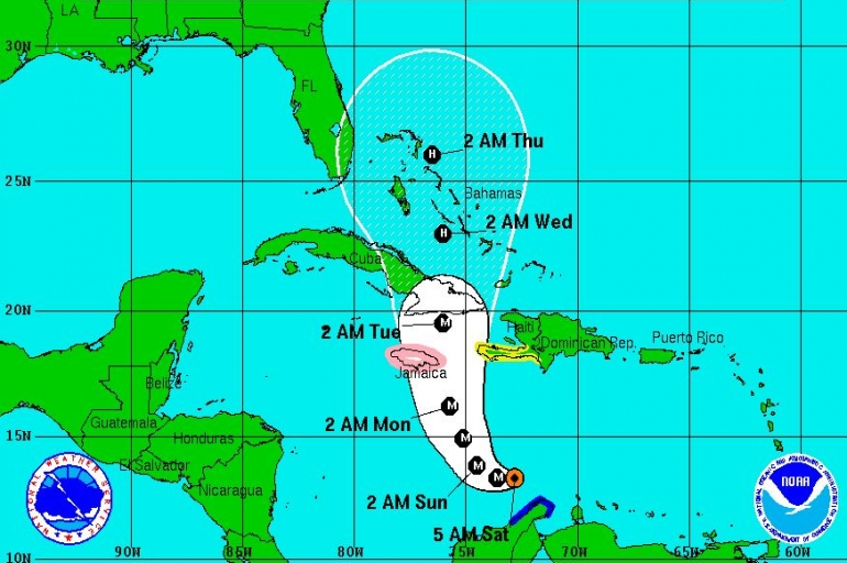 SATERN Activation Planned For Hurricane Matthew