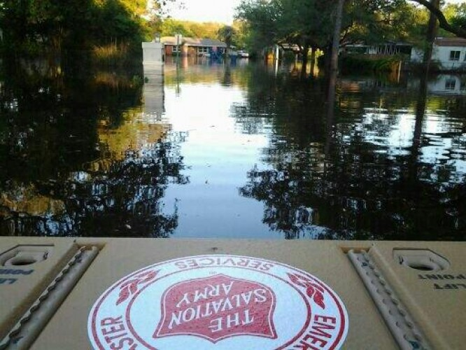Salvation Army Continues Relief Efforts in Florida