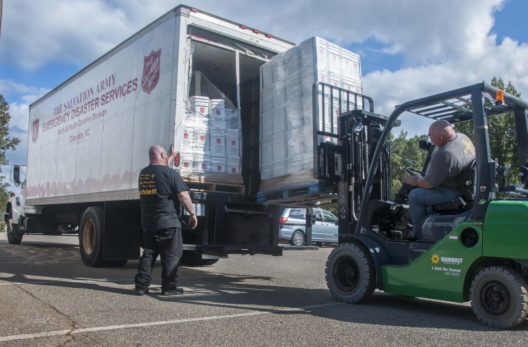 Salvation Army Begins Transition to Recovery in South Carolina