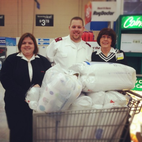 Small Community Comes Together to Support The Salvation Army in Grafton, WV