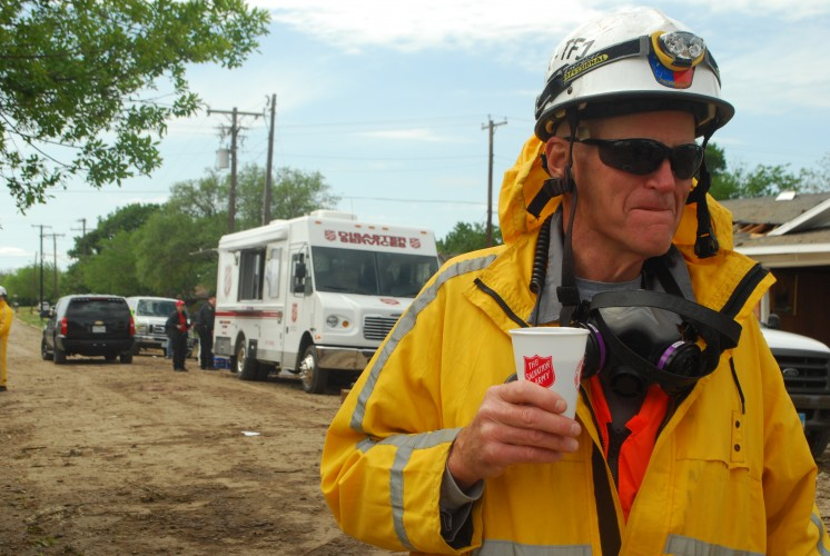 Salvation Army Teams Serving and Anticipating Residents Return in West, Texas