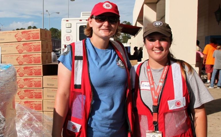 AmeriCorps and The Salvation Army: Powerful Partners in Disaster Recovery
