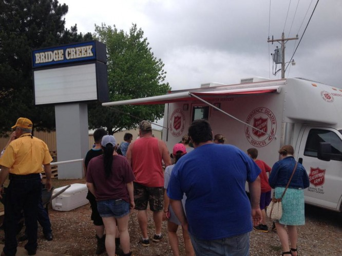 Salvation Army Response Continues in Central Oklahoma