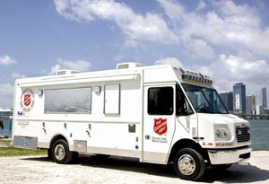 Salvation Army Prepares for Hurricane Isaac Landfall on Katrina Anniversary