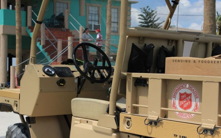 Off-Road Vehicles Assist Disaster Relief Efforts