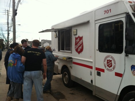 Nor'easter May Disrupt Salvation Army Services For Hurricane Sandy