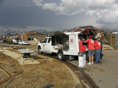 Salvation Army Combating Natural Disasters with Acts of God in Alabama