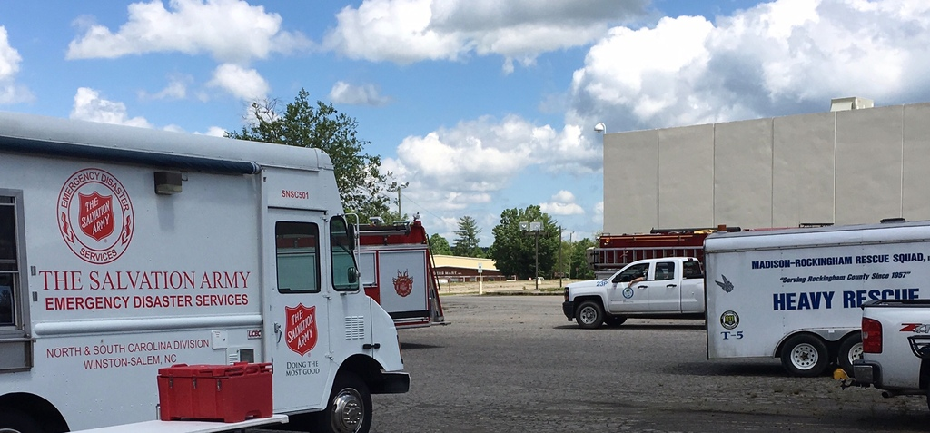 The Salvation Army Responds to Severe Weather in Rockingham County, NC
