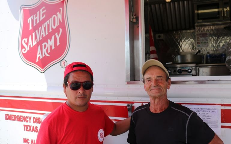 The Salvation Army Comes Full Circle for Port Aransas Resident