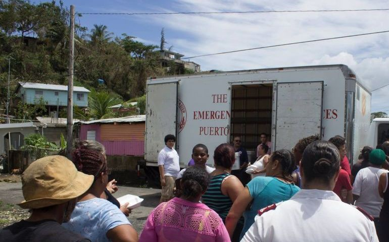 The Salvation Army Continues to Serve Puerto Rico & U.S. Virgin Islands