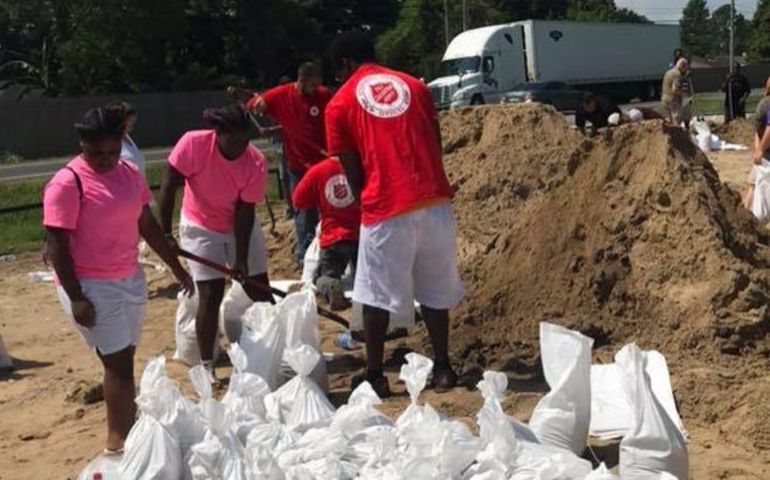 The Salvation Army Prepares to Respond to Tropical Storm Barry