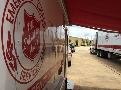 The Salvation Army Ready As Tropical Storm Heads For Gulf Coast