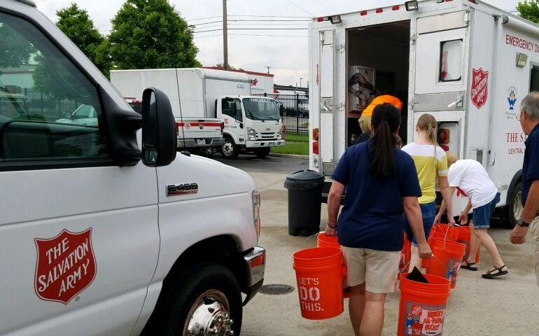 The Salvation Army of Cincinnati and Northern Kentucky Continues Relief Efforts in Dayton, Ohio