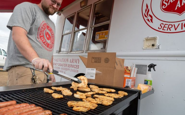 Tyson Foods Supports Salvation Army Tornado Relief Efforts