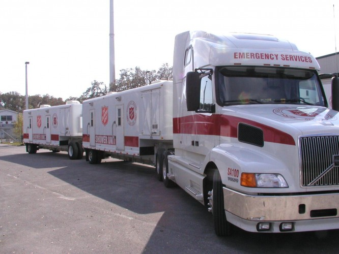 Salvation Army Responds to Record Flooding in Pasco County, Fla.