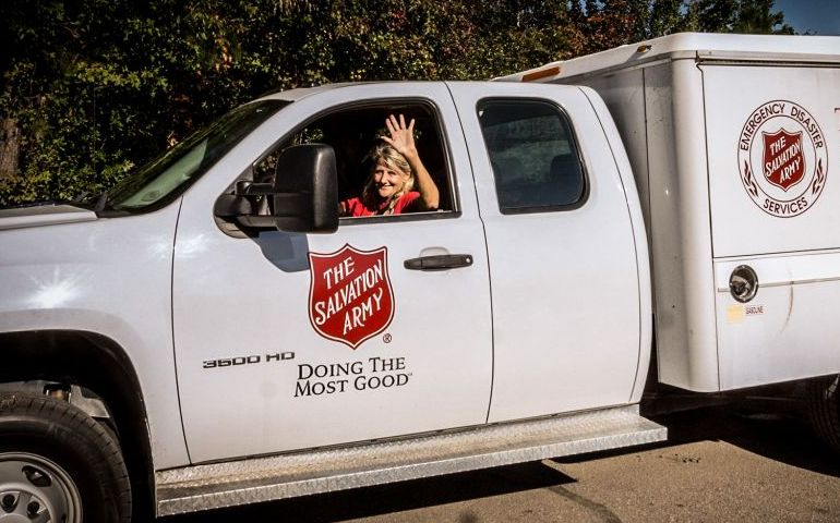 Salvation Army North and South Carolina Mobilizing Ahead of Hurricane Florence