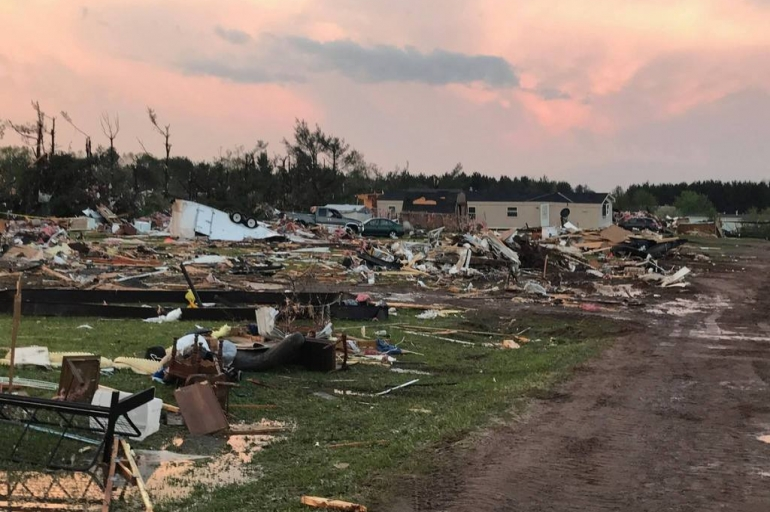 Salvation Army Disaster Workers Respond to Chetek, Wisconsin Tornado