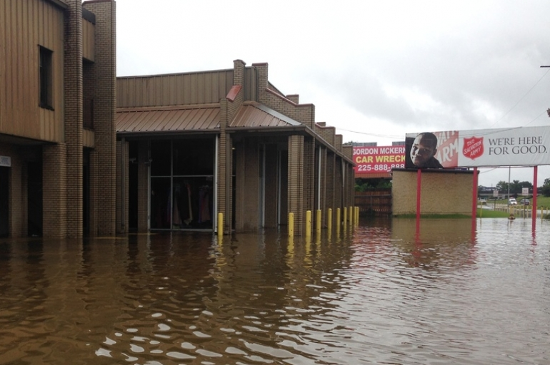 Despite Flooding at Baton Rouge Facilities, Salvation Army Ready To Respond