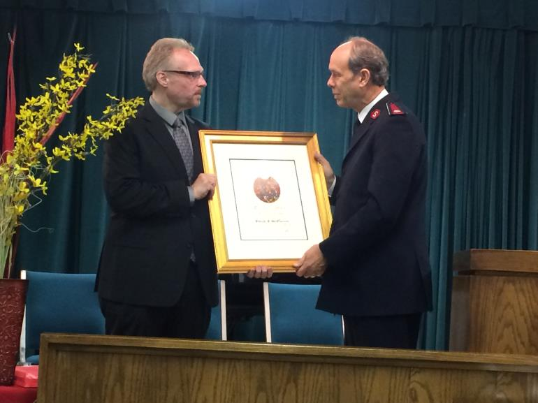 Exceptional Service Award Presented Posthumously To SATERN Founder's Family