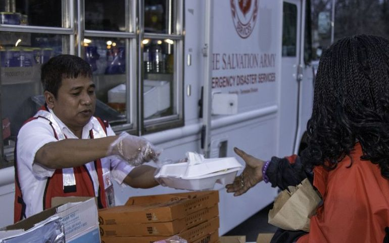 Salvation Army Services Reinforced From Cities Across Kentucky And Tennessee