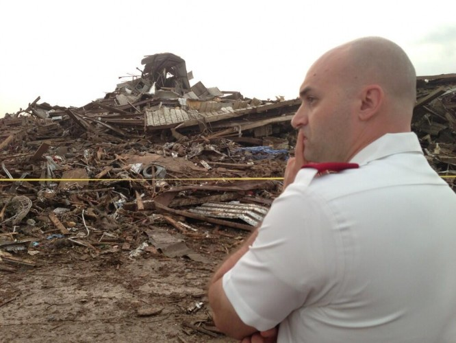 Salvation Army Responds to Deadly Tornado in Moore OK