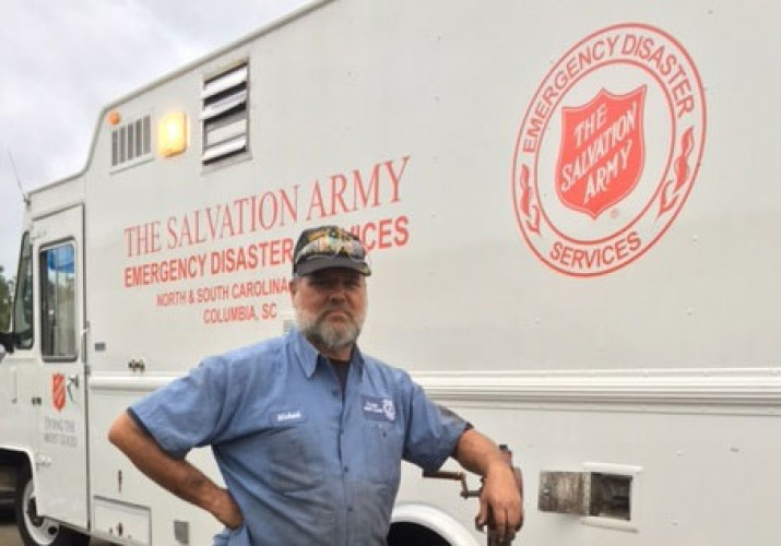 The Salvation Army Salutes (and Feeds) the Heroes on the Ground