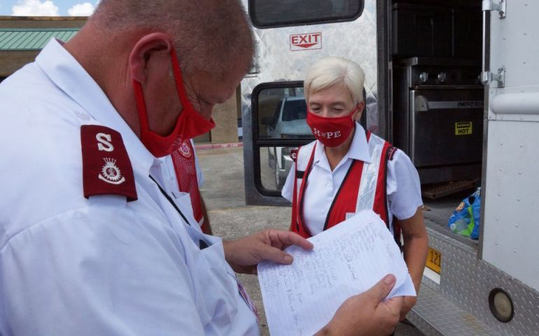 The Salvation Army Addresses The Invisible Effects of Natural Disasters and Trauma in Lake Charles, LA